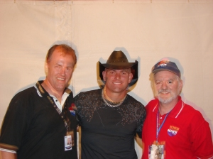Russ Knight, Keith Anderson, me